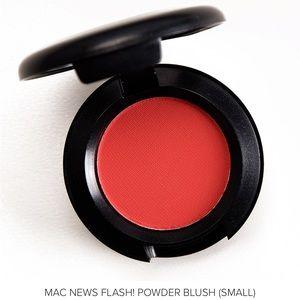 NWT MAC Cosmetics News Flash! Powder Blush